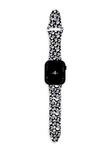 MobilCadde Apple Watch / Watch 2 / Watch 3 Kurukafa Kordon (38 mm) Renkli